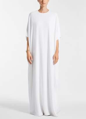St. John Silk Double Georgette Dress