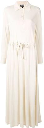 Giorgio Armani drawstring waist dress