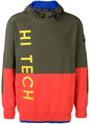 Polo Ralph Lauren Hi-Tech hooded jumper