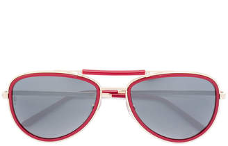 bd8b665aae at Farfetch · Cartier Santos De sunglasses