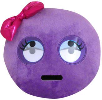 Kids Preferred Emoji Eye Roll Lenticular Pillow