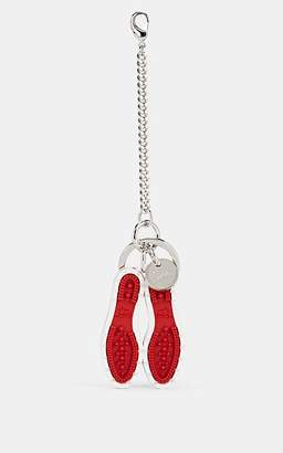 Christian Louboutin Men's Signature-Sole Key Chain - Red