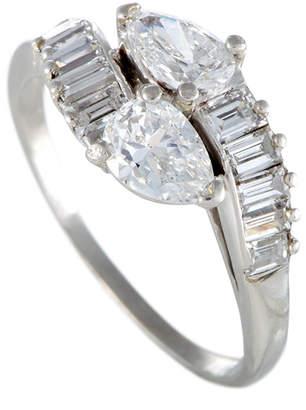 Cartier Heritage  Platinum 1.67 Ct. Tw. Diamond Ring