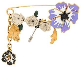 Sonia Rykiel Anemone floral pin