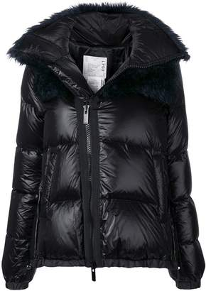 Sacai padded winter jacket