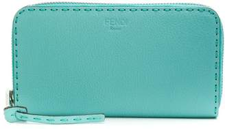 Fendi zip-around wallet