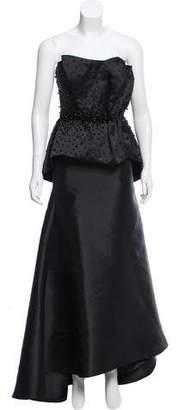 Mac Duggal Beaded Evening Gown