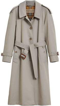 Burberry Side-slit Tropical Gabardine Trench Coat