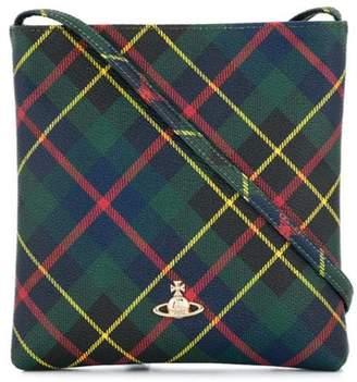 2b93d33fdc Vivienne Westwood plaid pattern crossbody bag