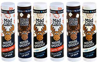 Mad Gab's Moose Smooch Lip Balms - Assorted6-Pack