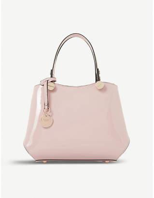 Dune Dinidimogen patent faux-leather handbag