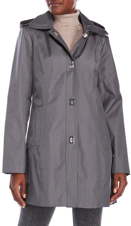 Anne Kleinanne klein Twin Key Trench Coat