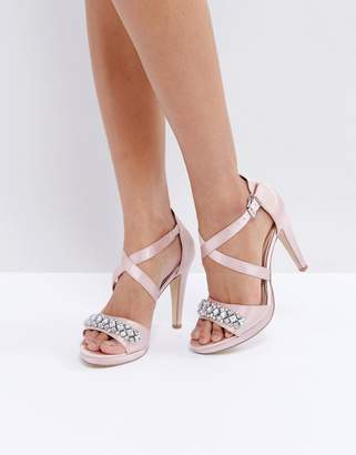 Head Over Heels by Dune Maisy Embellished Heeled Sandals
