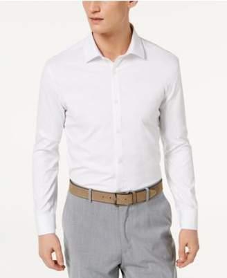 Ryan Seacrest Distinction Ryan Seacrest DistinctionTM Men's Ultimate Active Slim-Fit Non-Iron Performance Stretch Solid White Dress Shirt, Created for Macy's