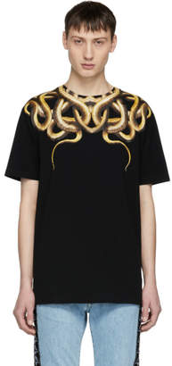 Marcelo Burlon County of Milan Black Snake T-Shirt