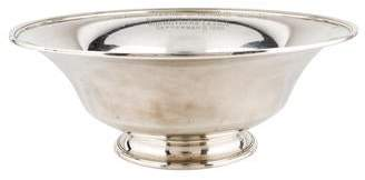 Tiffany & Co. Sterling Silver Engraved Bowl