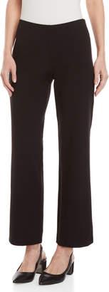 Eileen Fisher Petite Black Straight Pants