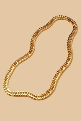 Nicole Romano Infinity Gold Chain Necklace
