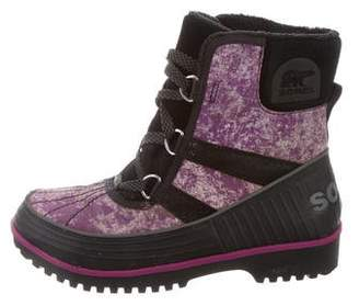 Sorel Lace-Up Snow Boots