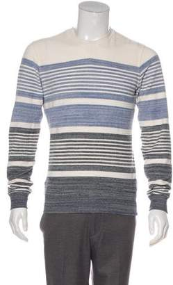 Orlebar Brown Woven Striped Sweater
