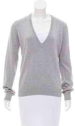 Michael Kors V-Neck Long Sleeve Sweater