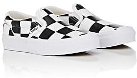 Vans Kids' BNY Sole Series: Kids' Classic Leather Slip-On Sneakers