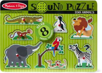 Melissa & Doug Zoo Animal Sound Puzzle
