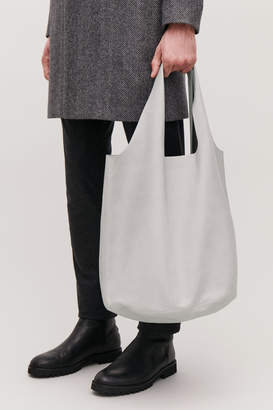 Cos SOFT LEATHER TOTE BAG