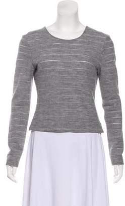 L'Agence Wool Long-Sleeve Top