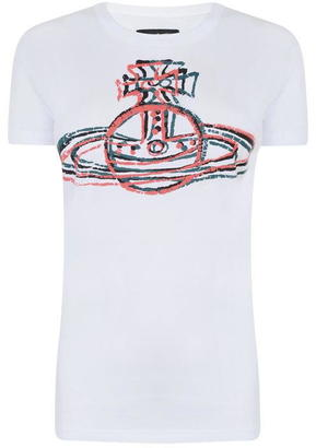 Vivienne Westwood Crooked Logo T Shirt