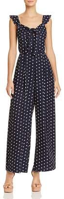 Lucy Paris Polka Dot Wide-Leg Jumpsuit - 100% Exclusive