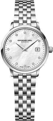 Raymond Weil 5988-st-97081 Toccata stainless steel diamond-studded watch