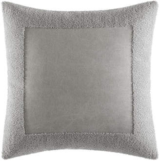 "Vera Wang Terry Border Pillow, 18""Sq."