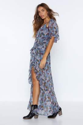 Nasty Gal High Time Floral Dress