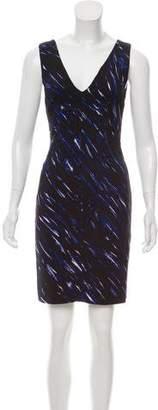 Milly Sleeveless Printed Mini Dress