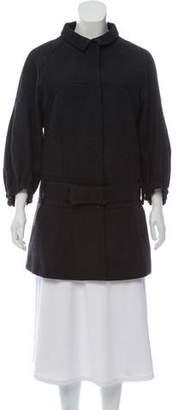 Prada Wool Belted Coat w/ Tags