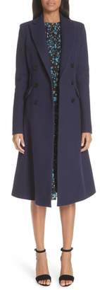 Altuzarra Wool Blend Double Breasted Coat