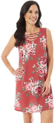Apt. 9 Women's Strappy Floral Shift Dress
