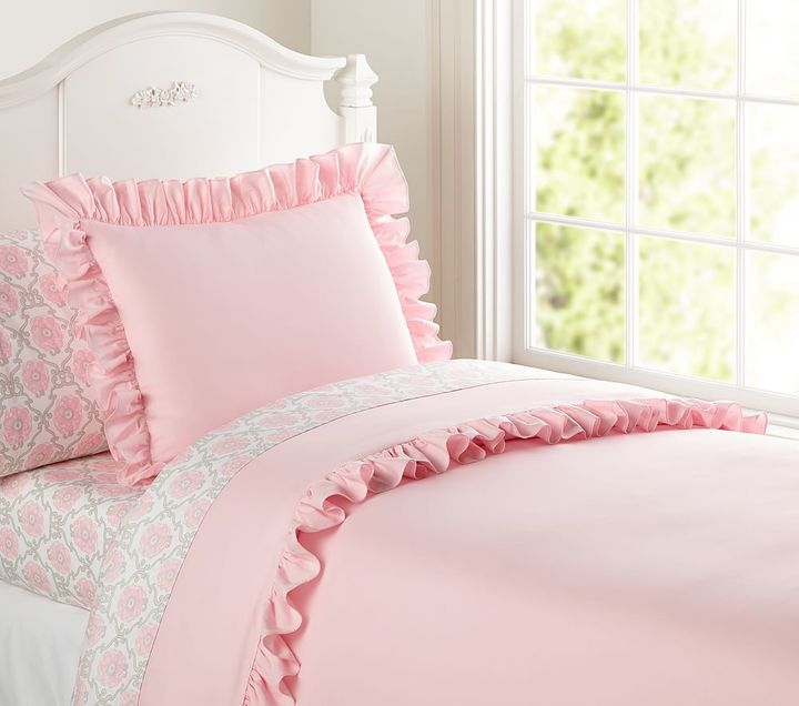 Pottery Barn Kids Ruffle Collection Duvet Cover
