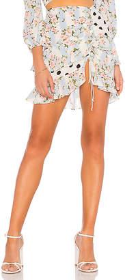 For Love & Lemons St Louis Mini Skirt