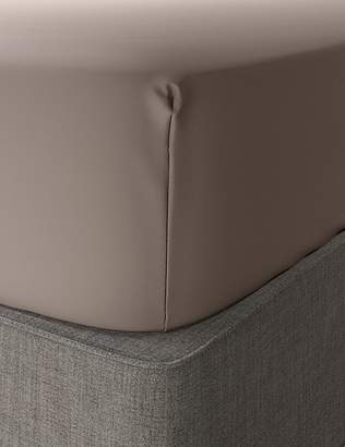 Marks and Spencer Comfortably Cool Cotton & Tencel® Blend Extra Deep Fitted Sheet
