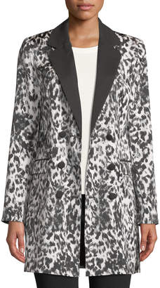 Rachel Roy Liv Animal-Print Blazer