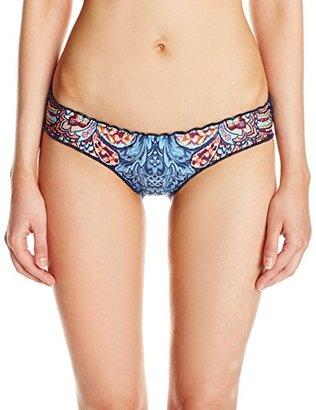 Lucky Brand Women's Layla Reversible Hipster Bikini Bottom $32.97 thestylecure.com