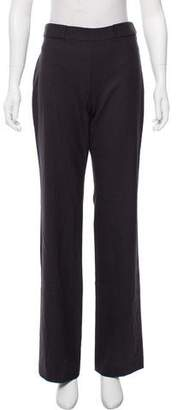 Theyskens' Theory Mid-Rise Wool Pants