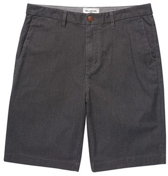 Boy's Billabong 'Carter' Cotton Twill Shorts $39.95 thestylecure.com
