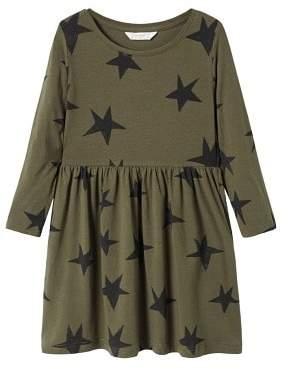 MANGO Printed cotton dress