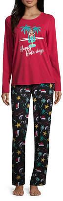 Co North Pole Trading Knit Pant Pajama Set- Talls