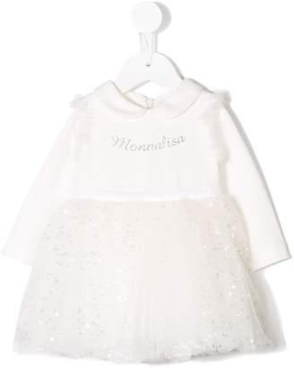 MonnaLisa sequin tulle skirt dress