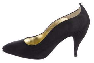 Walter Steiger Fabric Pointed-Toe Pumps