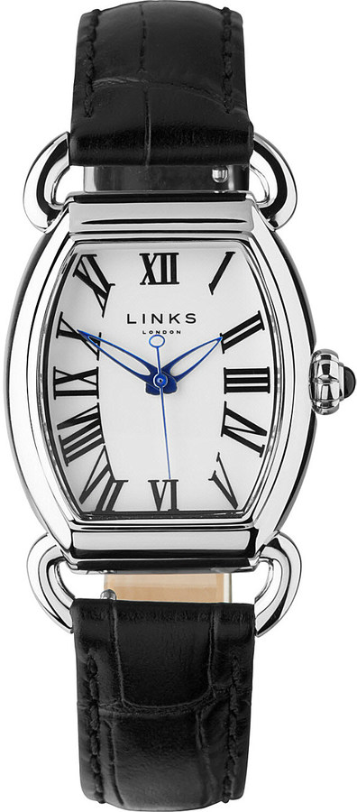 Links Of LondonLinks Of London Driver Ellipse stainless steel watch